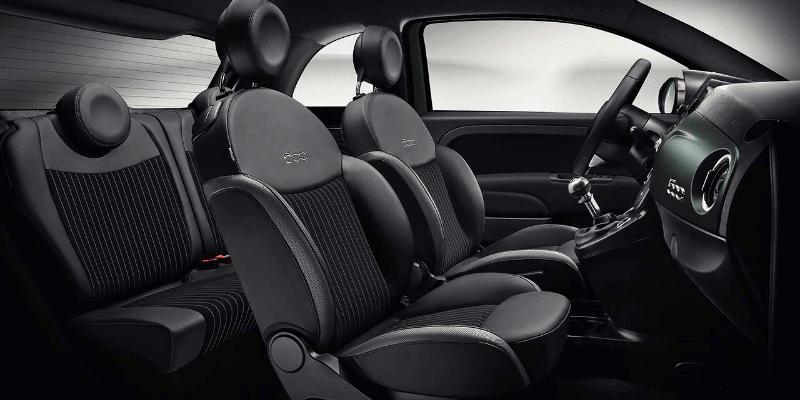 Fiat 500 Rockstar Interior
