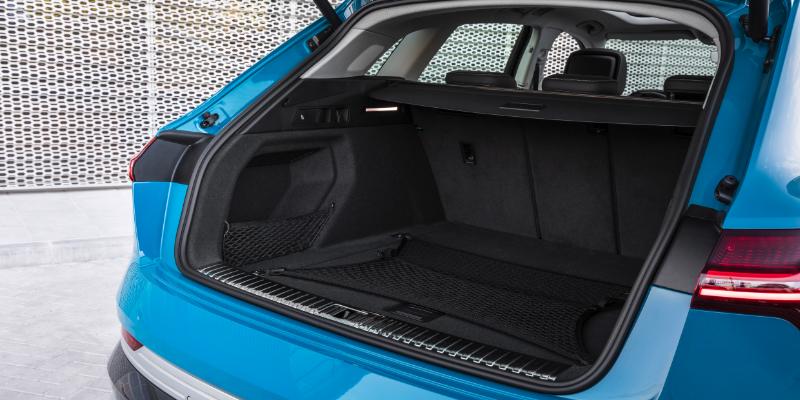 Audi E-Tron Boot