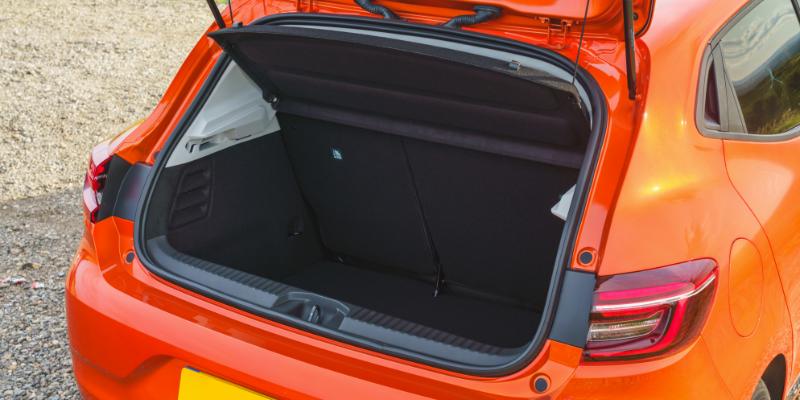 New Renault Clio Boot
