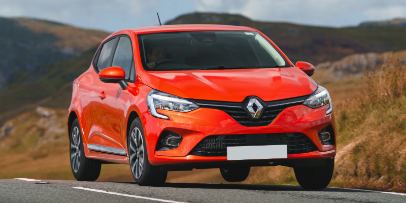 New Renault Clio Front