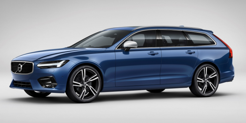 Volvo V90 R Design Front Side