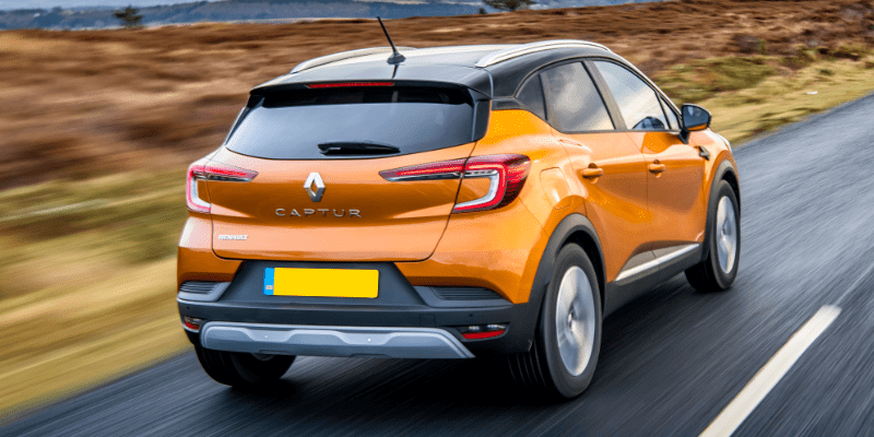 Renault Captur Rear