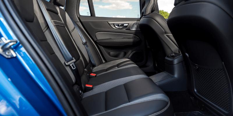 Volvo V60 R Design Rear Interior