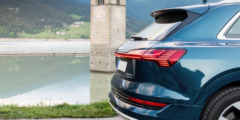 Audi E-Tron Rear Lights