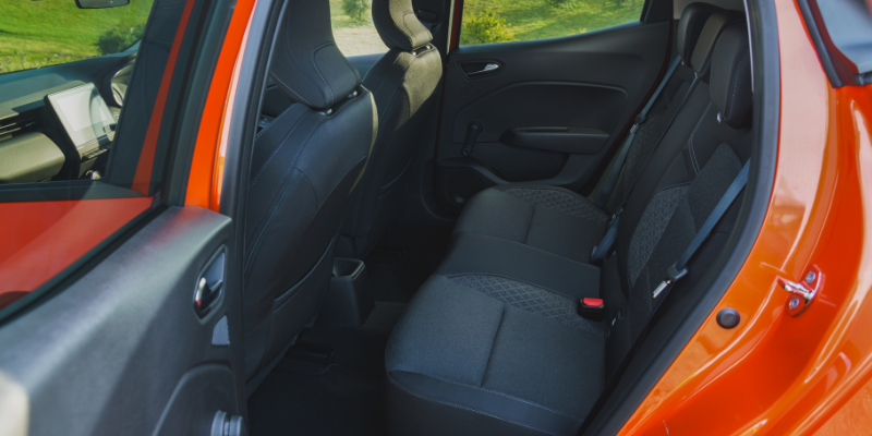 New Renault Clio Rear Seats