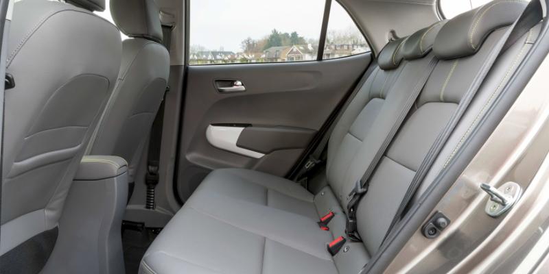 Kia Picanto X-Line Rear Seats