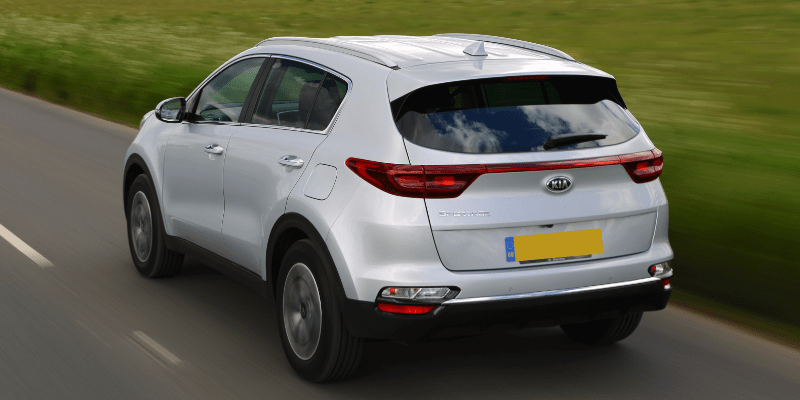 Kia Sportage Rear Side