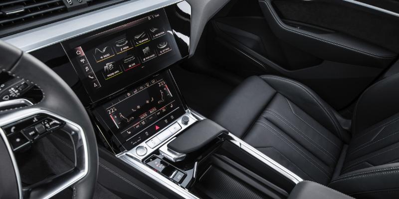 Audi E-Tron Screens