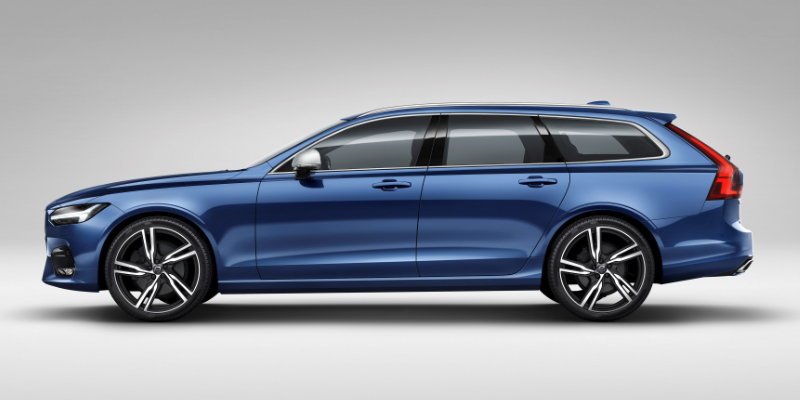 Volvo V90 R Design Side