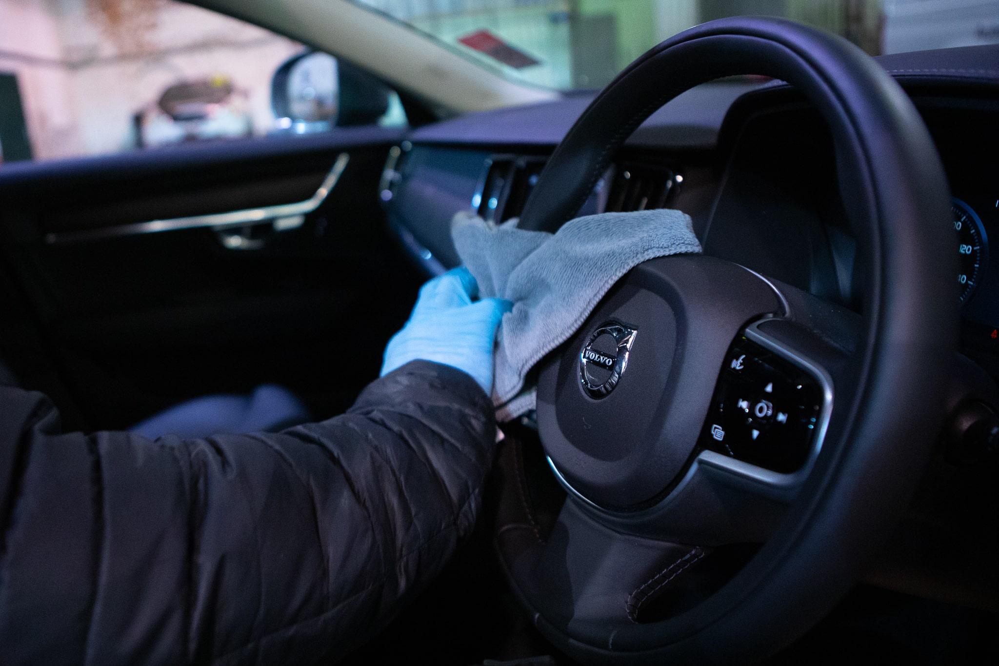 Steering Wheel Clean