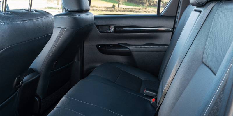 Toyota Hilux Leather Seats