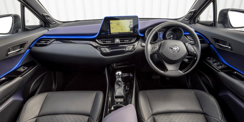 Toyota C-HR Front Interior