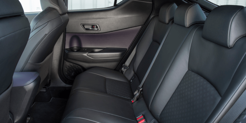 Toyota C-HR Rear Seats