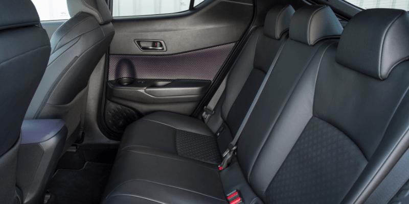 Toyota C-HR Rear Seats
