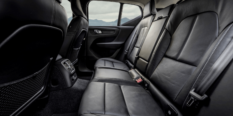 Volvo XC40 Hybrid Rear Seats