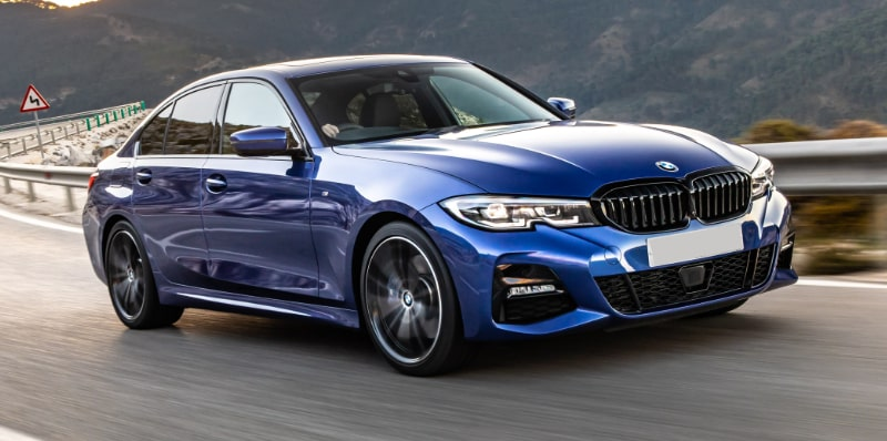 BMW 3 Series Saloon Flexed 14-min