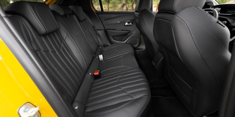 Peugeot 208 Rear Interior