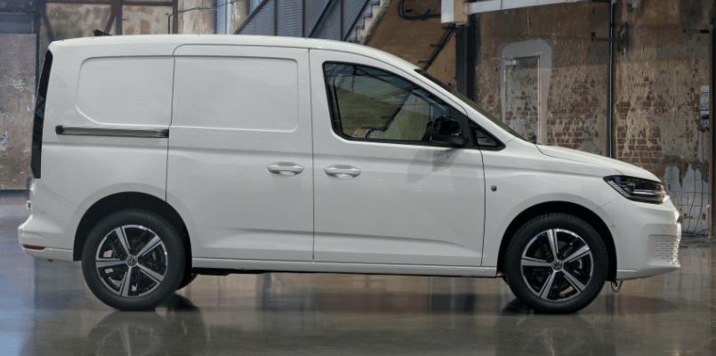 VW Caddy Interior - FLexed 2-min