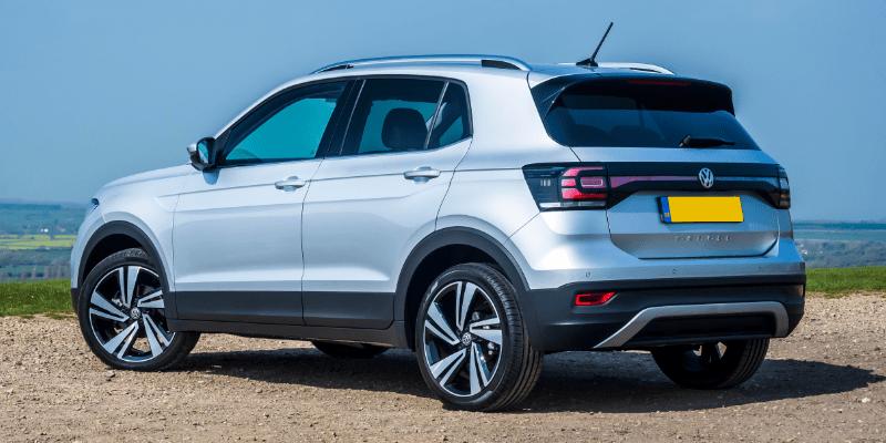 Volkswagen T-Cross Rear